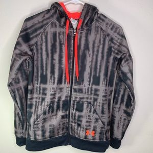 Under armour cold gear semi fitted zip up jacket